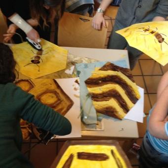 Schüleraustausch Seminar Labyrinth in Breisach