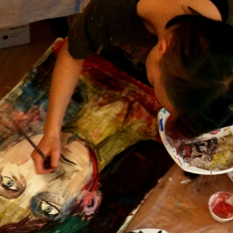 Freies Jugendseminar Stuttgart, Malepoche, Portrait und Selbstportrait