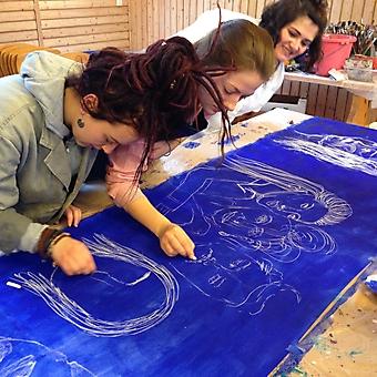Freies Jugendseminar Stuttgart Malepoche